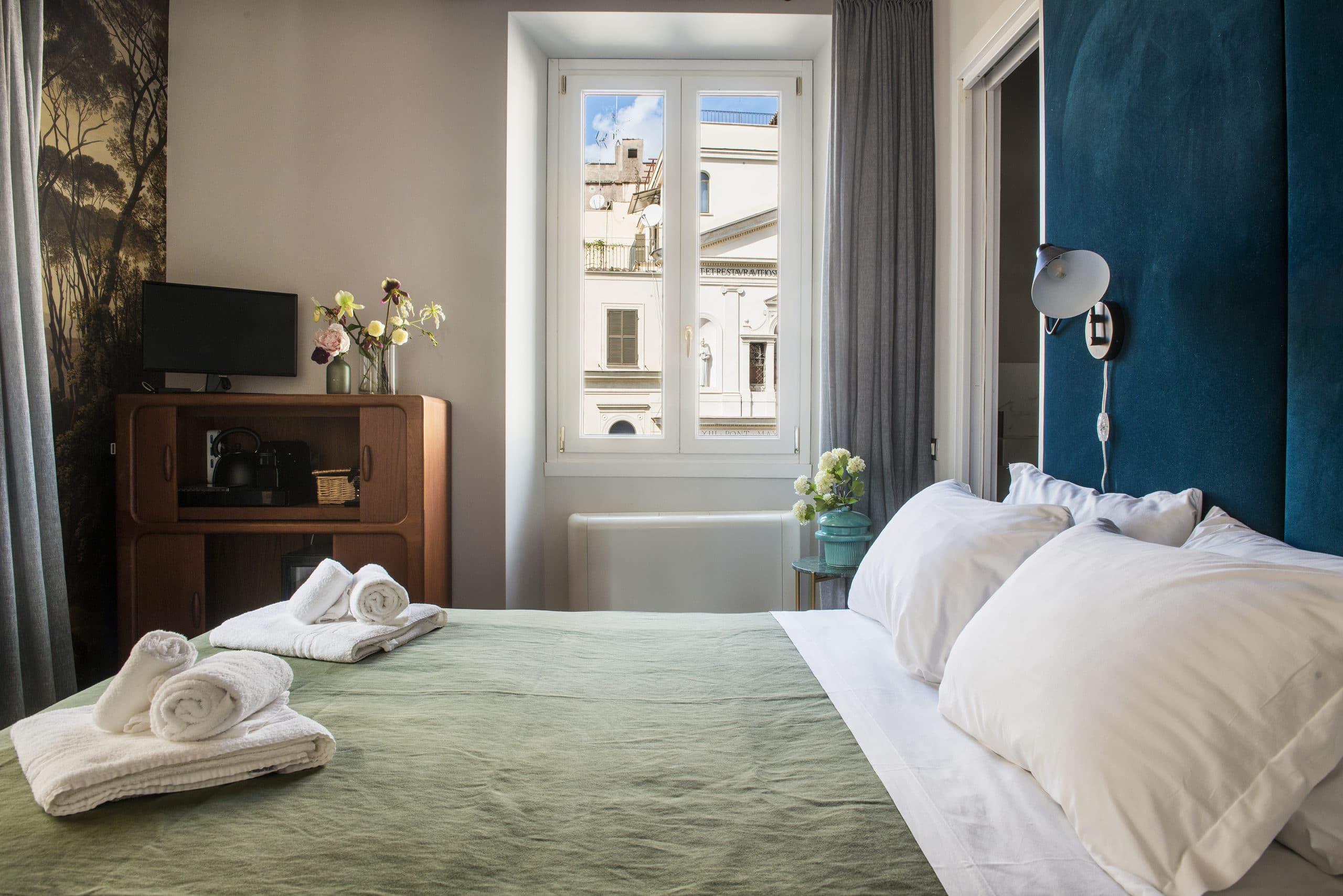 Hotel Bed image Buonanotte Colosseo B&B