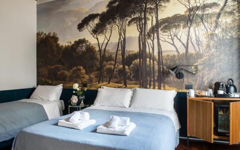 Triple room at the Buonanottecolosseo